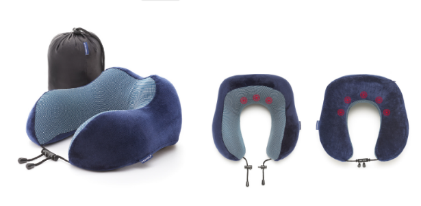 The MagnetComfort Neck Pillow with integrated magnets for relaxation
