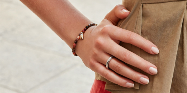 Magnetic therapy jewellery from Ship Shop Style - beaded bracelet and magnet ring