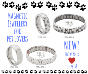 Magnetic Therapy jewellery for pet lovers
