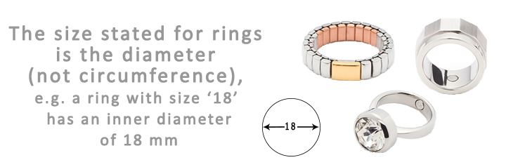 Ship Shop Style Ring size Guide