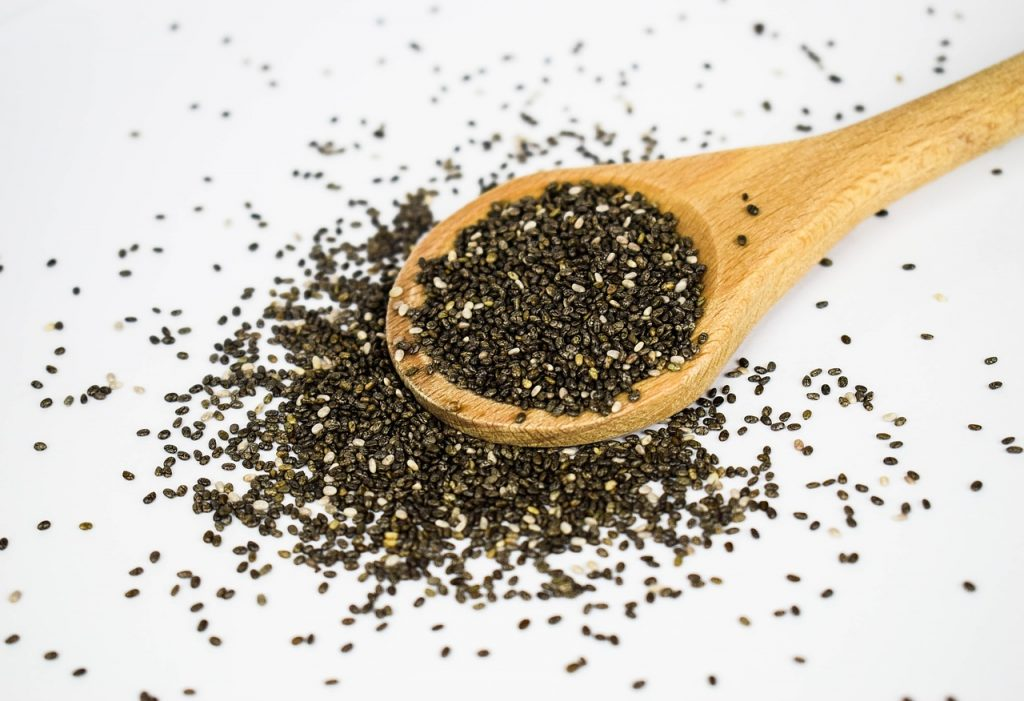 Source of Omega-3 - Chia Seeds