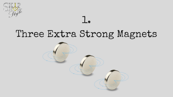 Three Extra Strong Magnets - sportEX Magnetic Bracelet