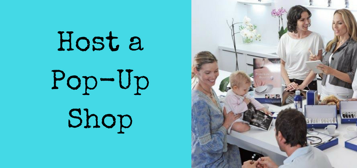 Host a magnetic jewellery pop-up shop