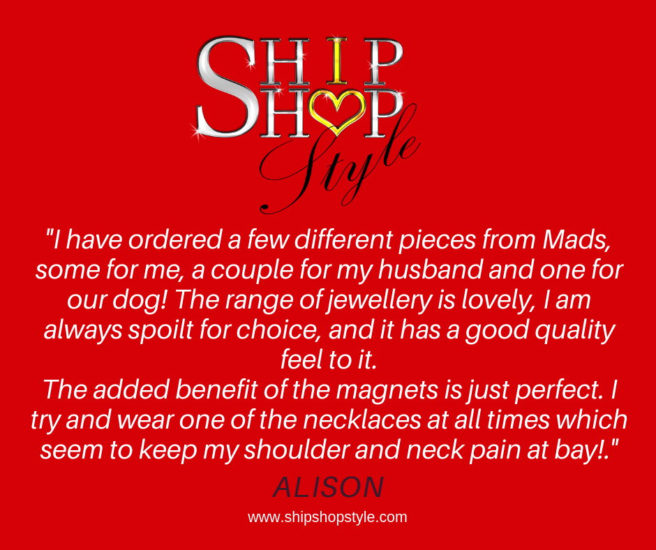 Ship Shop Style logo with customer review written below